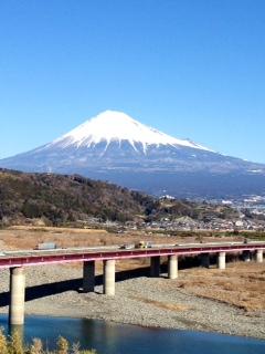 富士川SAから